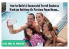 {How to build a successful travel business working part-time or full time...|build a successful trav