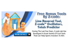 Free Tools To Success In Sports Betting